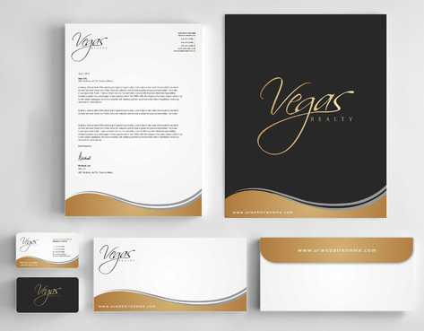 Vegas Realty  Business Cards and Stationery  Draft # 100 by Dawson