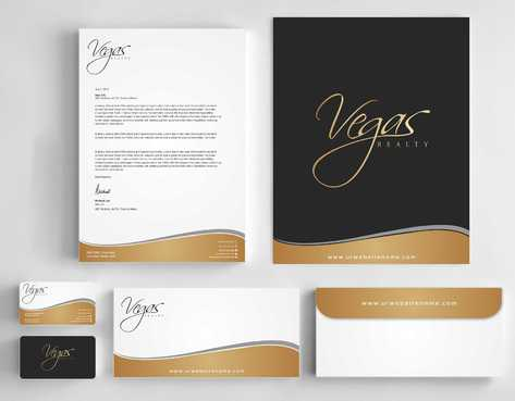 Vegas Realty  Business Cards and Stationery  Draft # 103 by Dawson