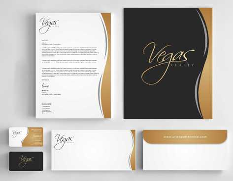Vegas Realty  Business Cards and Stationery  Draft # 104 by Dawson