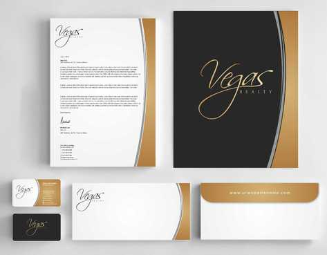 Vegas Realty  Business Cards and Stationery  Draft # 106 by Dawson