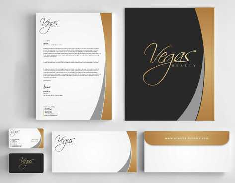Vegas Realty  Business Cards and Stationery  Draft # 107 by Dawson
