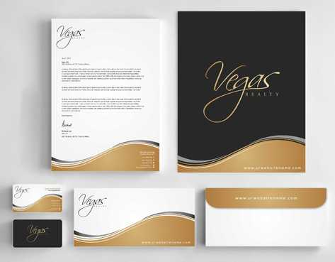 Vegas Realty  Business Cards and Stationery  Draft # 110 by Dawson
