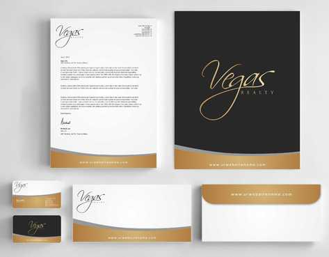 Vegas Realty  Business Cards and Stationery  Draft # 111 by Dawson