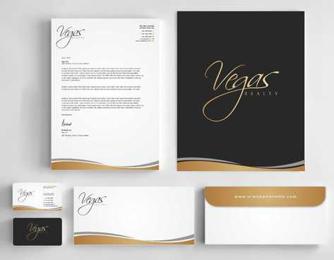 Vegas Realty  Business Cards and Stationery  Draft # 113 by Dawson