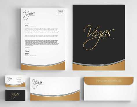 Vegas Realty  Business Cards and Stationery  Draft # 114 by Dawson