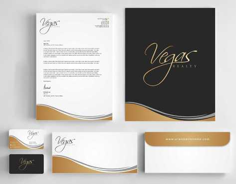Vegas Realty  Business Cards and Stationery  Draft # 115 by Dawson