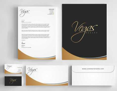 Vegas Realty  Business Cards and Stationery  Draft # 116 by Dawson