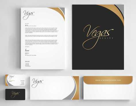 Vegas Realty  Business Cards and Stationery  Draft # 117 by Dawson