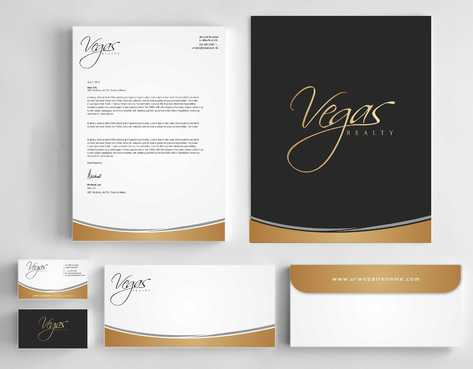 Vegas Realty  Business Cards and Stationery  Draft # 118 by Dawson