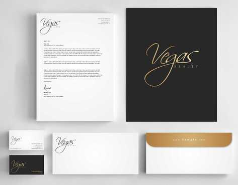 Vegas Realty  Business Cards and Stationery  Draft # 120 by Dawson