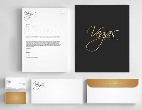 Vegas Realty  Business Cards and Stationery  Draft # 121 by Dawson