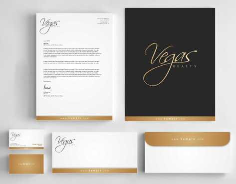 Vegas Realty  Business Cards and Stationery  Draft # 122 by Dawson