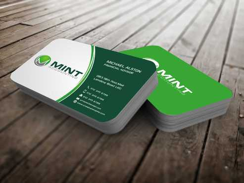 Mint Accounting Business Cards and Stationery  Draft # 98 by Dawson