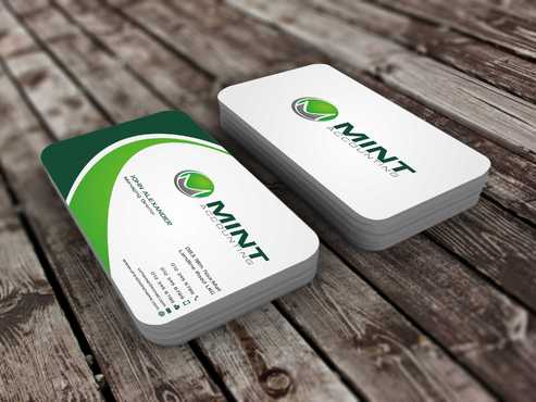 Mint Accounting Business Cards and Stationery  Draft # 111 by Dawson