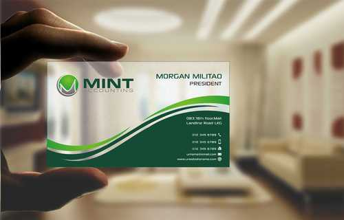 Mint Accounting Business Cards and Stationery  Draft # 112 by Dawson