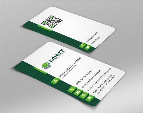 Mint Accounting Business Cards and Stationery  Draft # 119 by Dawson