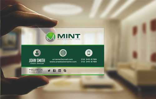 Mint Accounting Business Cards and Stationery  Draft # 122 by Dawson