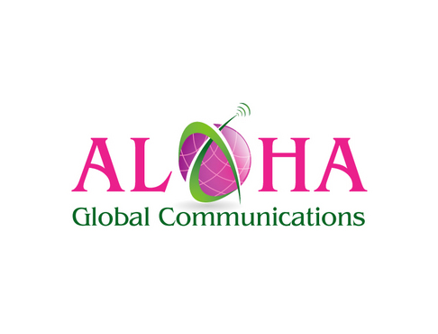 Aloha Global Communications A Logo, Monogram, or Icon  Draft # 24 by vector