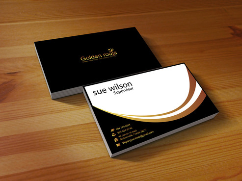 Golden roots senior care solutions inc Business Cards and Stationery  Draft # 3 by Tayyabadesigner