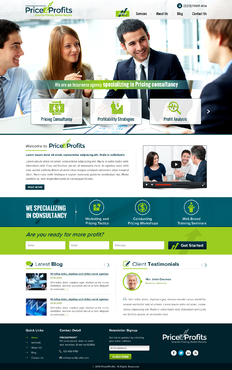 Innovative Pricing Solutions Group (Price 4 Profits) Web Design Winning Design by jogdesigner