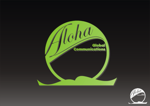 Aloha Global Communications A Logo, Monogram, or Icon  Draft # 28 by sumurdiladang