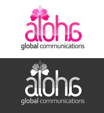 Aloha Global Communications A Logo, Monogram, or Icon  Draft # 29 by Zohair