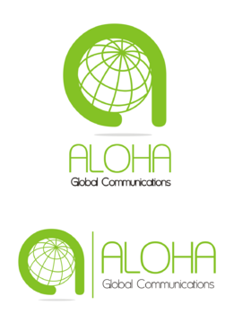 Aloha Global Communications A Logo, Monogram, or Icon  Draft # 30 by sumurdiladang