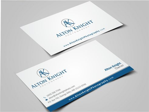 Alton Knight Photography Business Cards and Stationery  Draft # 186 by Dawson