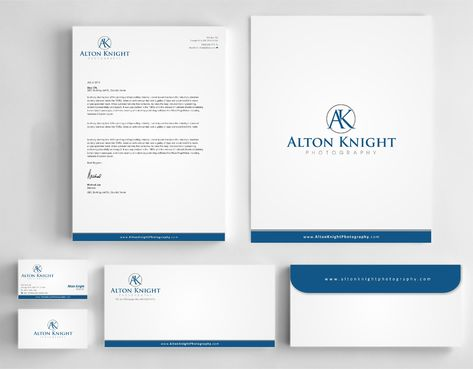 Alton Knight Photography Business Cards and Stationery  Draft # 187 by Dawson