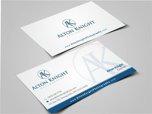 Alton Knight Photography Business Cards and Stationery  Draft # 188 by Dawson