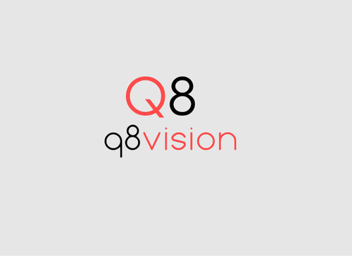 a drone (dji inspire1) and text (q8vision) A Logo, Monogram, or Icon  Draft # 18 by mazherali