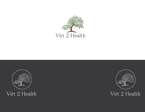 Virt2 Health A Logo, Monogram, or Icon  Draft # 107 by janinio