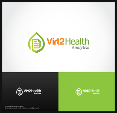 Virt2 Health A Logo, Monogram, or Icon  Draft # 122 by eanjo7