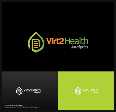 Virt2 Health A Logo, Monogram, or Icon  Draft # 123 by eanjo7