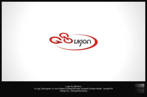 a drone (dji inspire1) and text (q8vision) A Logo, Monogram, or Icon  Draft # 41 by kanayaadvertising