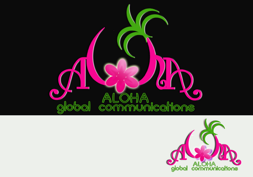Aloha Global Communications A Logo, Monogram, or Icon  Draft # 34 by dygme