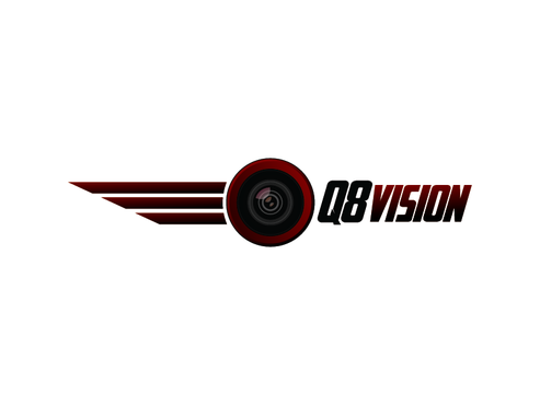 a drone (dji inspire1) and text (q8vision) A Logo, Monogram, or Icon  Draft # 42 by irfan0411