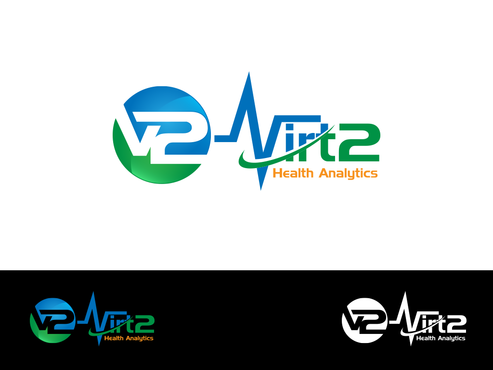 Virt2 Health A Logo, Monogram, or Icon  Draft # 137 by inzdesign