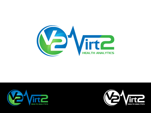 Virt2 Health A Logo, Monogram, or Icon  Draft # 140 by inzdesign