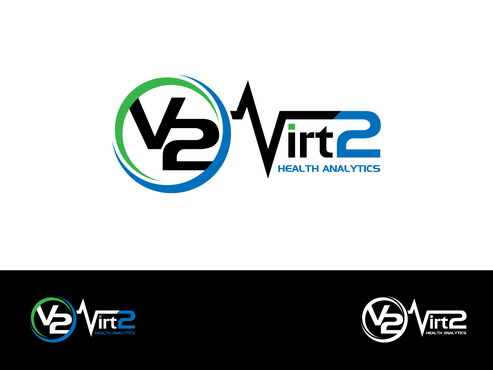 Virt2 Health A Logo, Monogram, or Icon  Draft # 141 by inzdesign