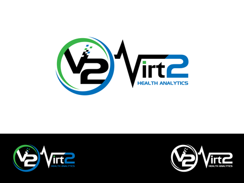 Virt2 Health A Logo, Monogram, or Icon  Draft # 142 by inzdesign