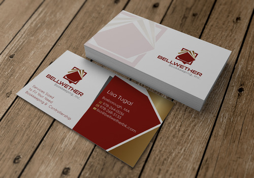 Bellwether Bookkeeping, Inc. Business Cards and Stationery  Draft # 10 by sevensky