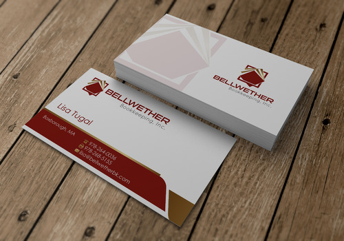 Bellwether Bookkeeping, Inc. Business Cards and Stationery  Draft # 11 by sevensky