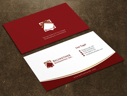 Bellwether Bookkeeping, Inc. Business Cards and Stationery  Draft # 13 by Xpert