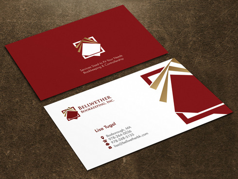 Bellwether Bookkeeping, Inc. Business Cards and Stationery  Draft # 14 by Xpert