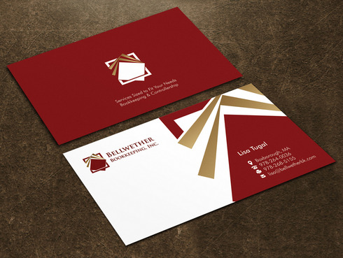 Bellwether Bookkeeping, Inc. Business Cards and Stationery  Draft # 15 by Xpert
