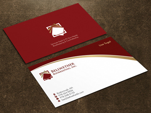 Bellwether Bookkeeping, Inc. Business Cards and Stationery  Draft # 16 by Xpert