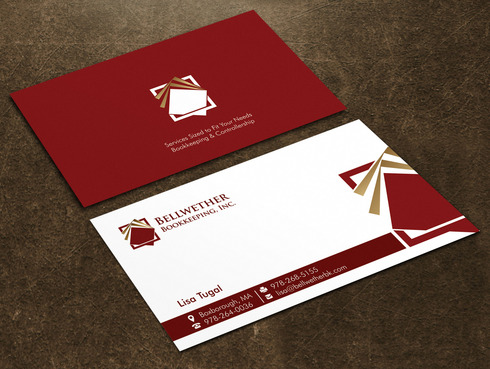 Bellwether Bookkeeping, Inc. Business Cards and Stationery  Draft # 17 by Xpert