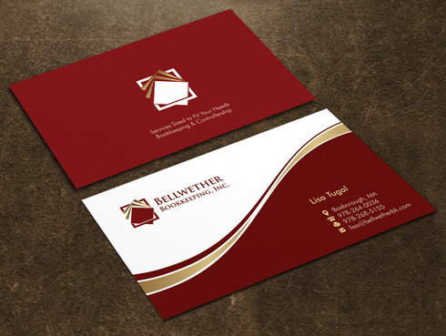 Bellwether Bookkeeping, Inc. Business Cards and Stationery  Draft # 18 by Xpert