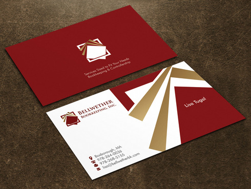 Bellwether Bookkeeping, Inc. Business Cards and Stationery  Draft # 19 by Xpert